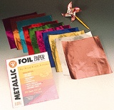 "Metallic Foil Paper, 10"" x 13"", Pack of 10"