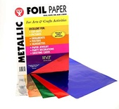 Metallic Paper, 2 each of 10 assorted colors