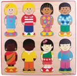 Little Friends Multicultural Puzzle