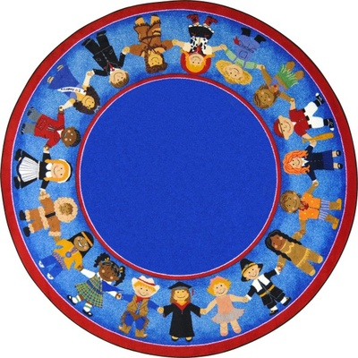 Children of Many Cultures™ Round Rug