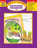 Take It to Your Seat Literacy Centers, Grades 1-3 (Enhanced eBook)