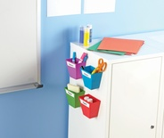 Magnetic Storage Bins, Set of 4