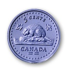 Canadian Nickels, Pack of 100