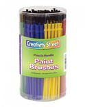 Paint Brushes, 24 Each of 6 Different Colors