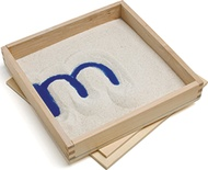 Letter Formation Sand Trays, Set of 4