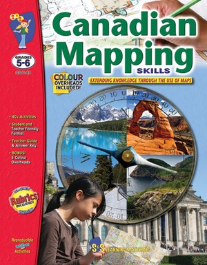Canadian Mapping Skills, Grades 5-6
