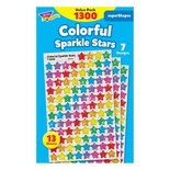 SuperSpots® & SuperShapes Variety Pack, Colorful Sparkle Stars