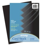 Array® Card Stock, Black