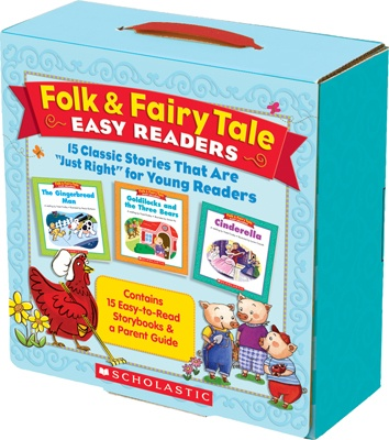 Folk & Fairy Tale Easy Readers, 15, 16-page storybooks