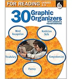 30 Graphic Organizers for Reading Grades 3-5 (Enhanced eBook)