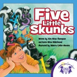 Five Little Skunks Read Along Book and MP3 Bundle