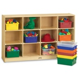 Jonti-Craft® 12 Tub Large Mobile Unit - with Colored Tubs