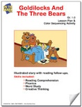 Goldilocks and the Three Bears Lesson Plan and Color Sequencing Activity