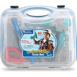 Pretend and Play® Work Belt Tool Set