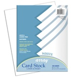 Array® Card Stock, White