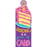 Reading is a Piece of CAKE Scent-sational Bookmarks (Cake)