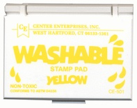 Washable Stamp Pad, Yellow
