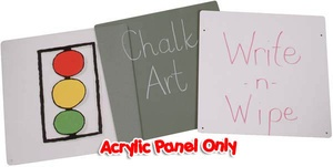Optional Acrylic Panel