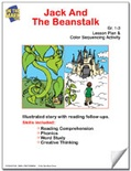 Jack and the Beanstalk Lesson Plan and Color Sequencing Activity
