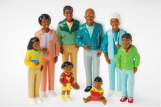 Pretend Play Families, African-American Family