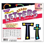 "Playful Patterns 4"" Uppercase/Lowercase Combo Pack, Alpha-Beads"