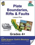 Earth Science - Plate Boundaries, Rifts & Faults e-lesson plan
