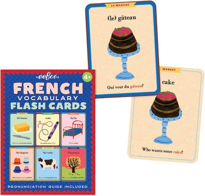 French Vocabulary Flash Cards