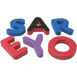 Magnetic Foam Letters, Small Uppercase Letters