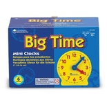 "Extra 4"" Geared Mini-Clocks, Set of 6"