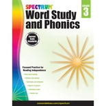 Spectrum® Word Study and Phonics, Grade 3