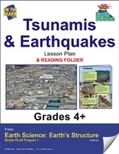 Earth Science - Tsunamis & Earthquakes e-lesson plan & Reading Folder