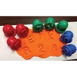 Ready2Learn™ Dough & Paint Stampers, Uppercase Alphabet