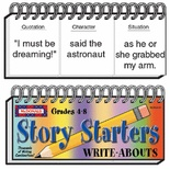Write-Abouts, Grades 4-8, Story Starters