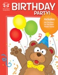 Birthday Party Activity Book and MP3 Bundle