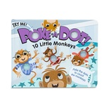 Poke-A-Dot 10 Little Monkeys Book