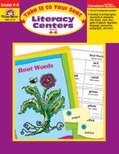 Take It to Your Seat Literacy Centers, Grades 4-6 (Enhanced eBook)