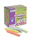 Blackboard Chalk, Assorted, 60 pieces