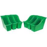 Interlocking Book Bin, Small, Green