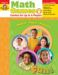 Math Games: Centers for Up to Six Players Level B (Enhanced eBook)
