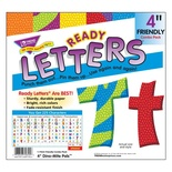 "Dino-Mite Pals™ 4"" Friendly Uppercase/Lowercase Combo Pack Ready Letters®"