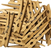 "Clothespins, 24 pieces, 2 3/4""L"