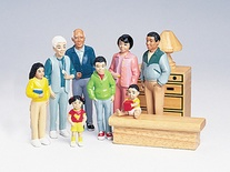 Pretend Play Families, Black Family