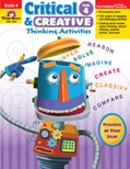 Critical and Creative Thinking Activities, Grade 4 (Enhanced eBook)