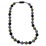 Munchables Kids' Chewelry, Kids Camo Necklace