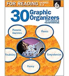30 Graphic Organizers for Reading Grades K-3 (Enhanced eBook)