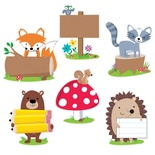 Designer Cut-Outs, Woodland Friends, 10""