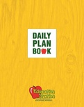 Education Station Daily Plan Book, 3-Hole Punched