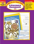 Take It to Your Seat Literacy Centers, Grades 3-4 (Enhanced eBook)