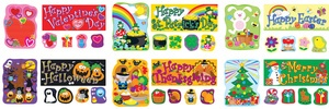 Holidays Bulletin Board Set