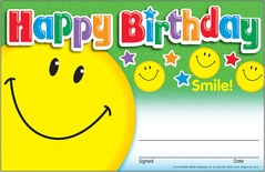 Happy Birthday-Smile Recognition Awards